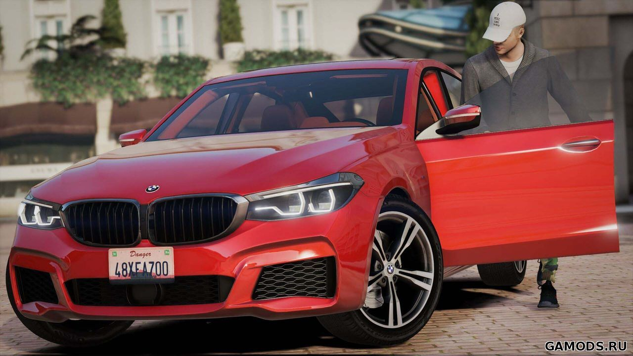 BMW 6-Series Gran Turismo M Sport 2017 [Replace]