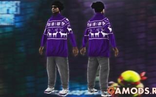 ballas3 в зимнем свитере