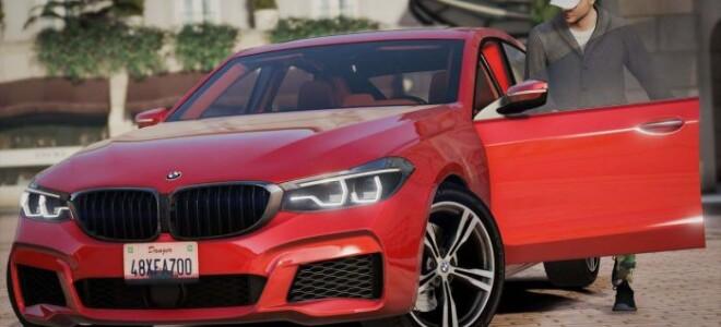 BMW 6-Series Gran Turismo M Sport 2017 [Replace]