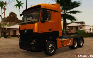 Mercedes-Benz Actros MP4 Stream Space Black