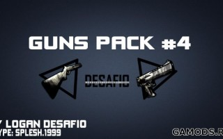 [GUN PACK] By Logan Desafio #4