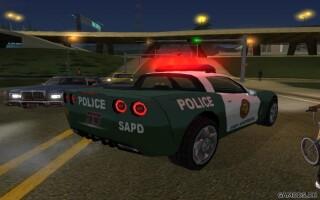 Chevrolet Corvette Police