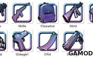 Gun Pack в розовом стиле