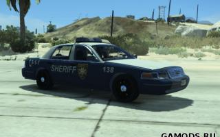 Walking Dead Sheriff Crown Victoria