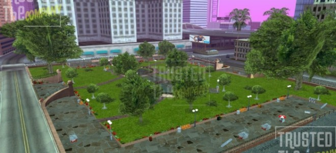 Парк у мэрии г.Лос Сантос