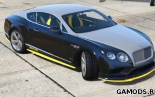 Bentley Continental GT Breitling Jet Team