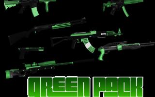 Green Gun Pack