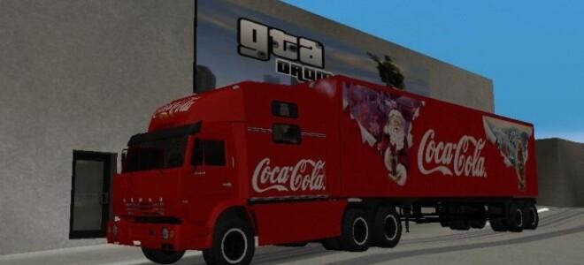 КАМАЗ 54112 / COCA COLA