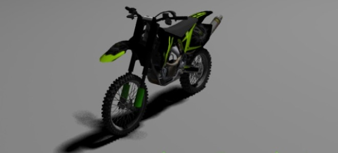 monster energy bike by p3noplast