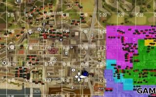 Карта с номерами домов для Advance RP